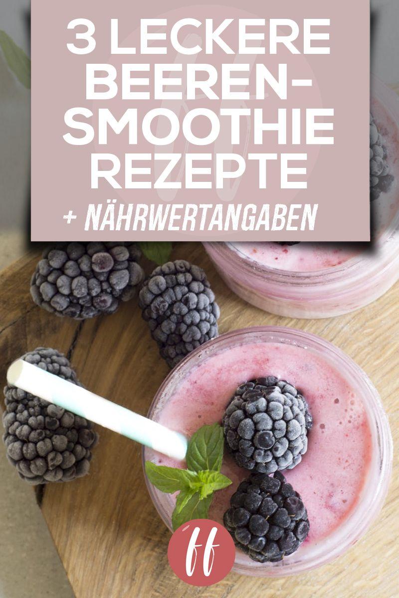 Ein Beeren Smoothie Ist Super Gesund Lecker Und Kann Mit Hilfe Verschiedener Rezepte Selber Gemacht Werden Die Reze In 2020 Beeren Smoothie Smoothie Rezepte Smoothie