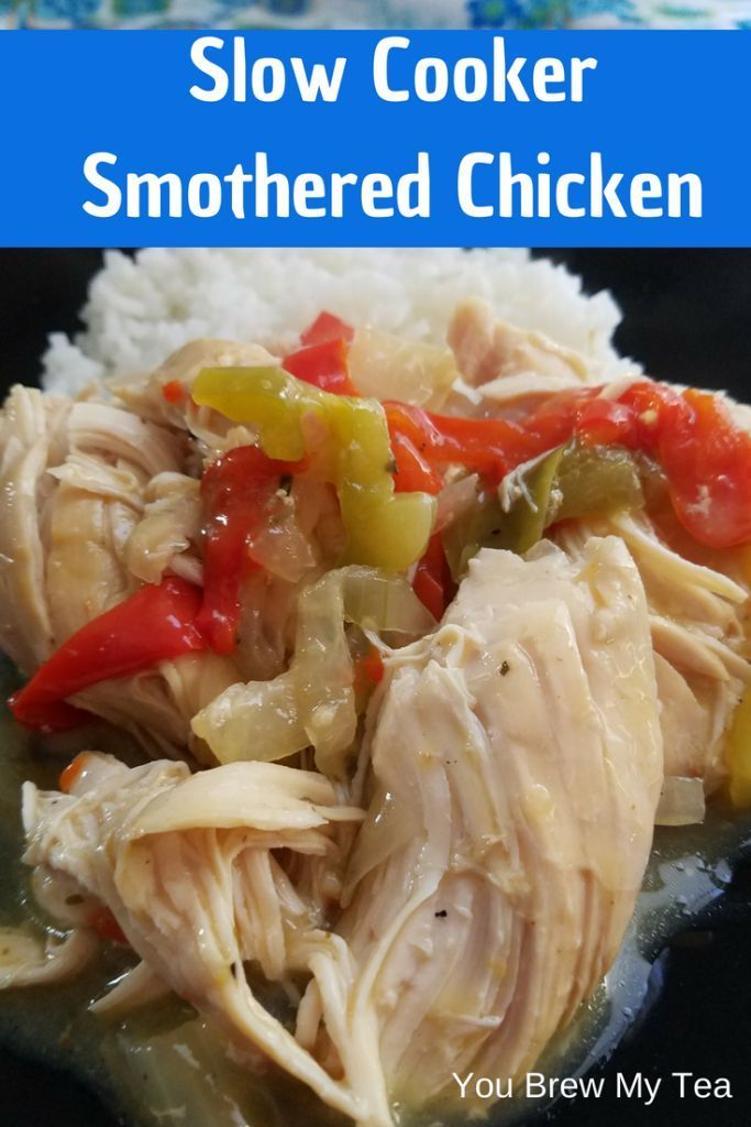 Slow Cooker Smothered Chicken Breasts Recipe Smothered Chicken Breasts Smothered Chicken