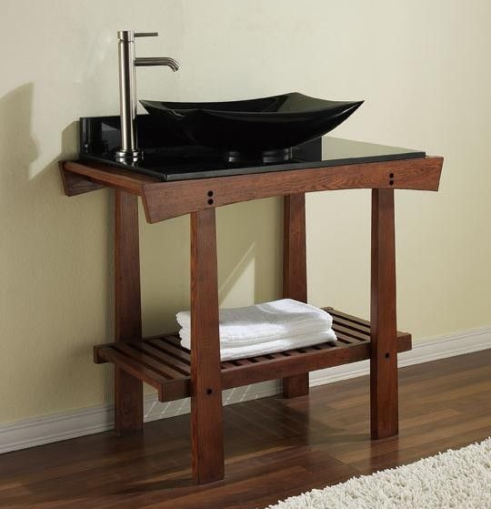 Zen Bathroom Sinks asian style sink and table | modern asian bedroom | pinterest