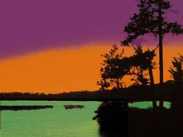 Shows Secondary Triadic Colour Scheme Orange Purple And Green