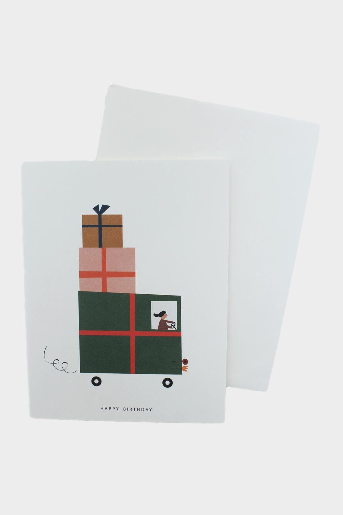 Gift Truck Card