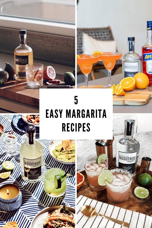 5 Easy, Craft Margaritas - Nosotros Tequila