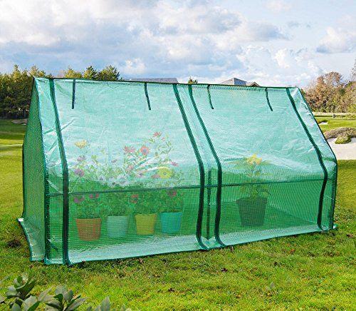 Quictent Upgraded Large Door Portable Mini Greenhouse Gre 400 x 300