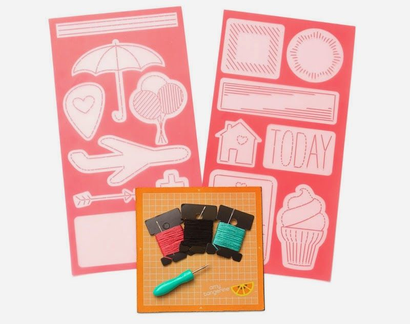 All Scrapbook Steals The Blog Amy Tangerine Embroidery Kit Amy