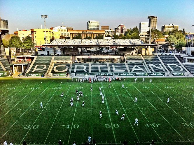Week 2 Lincoln Vs Southridge At Jeld Wen Field Portland State University Pacific Northwest Travel Oregon