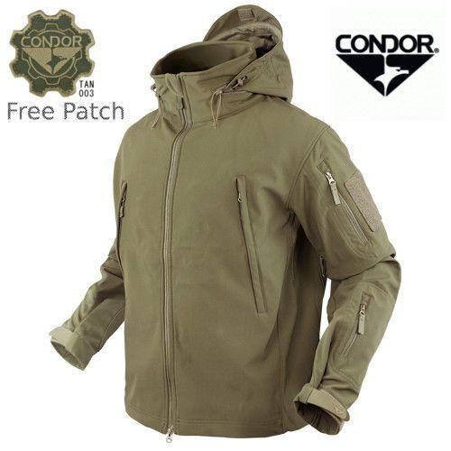 Condor 602 Tactical Summit Softshell Jacket Cold Weather Ykk