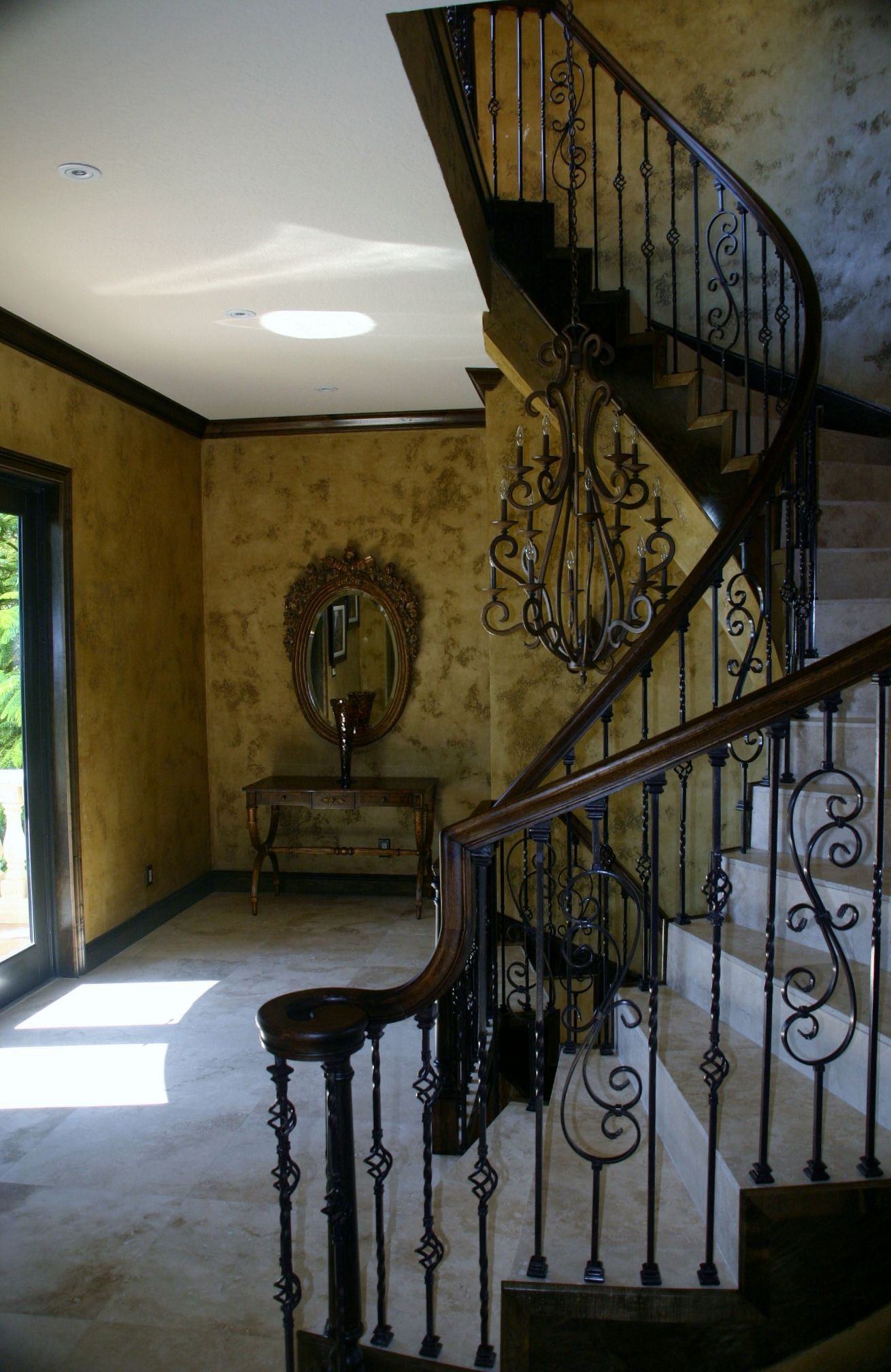 Best Spiral Staircase With Faux Painting Faux Painting 400 x 300