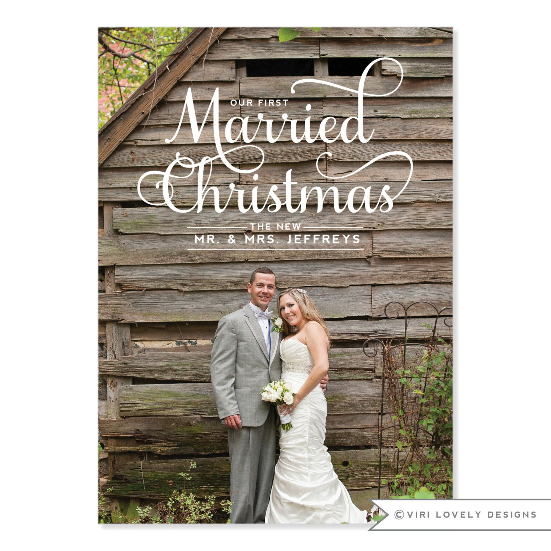 Custom Photo Holiday Card | DIY Printable or Printed | Happy ...