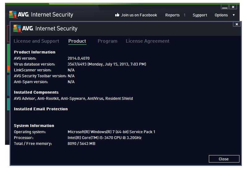 avg antivirus product key 2018