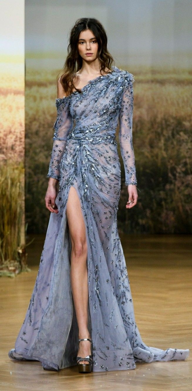 ☆Ziad Nakad | Spring 2018 Couture | Evening Gowns | Pinterest ...