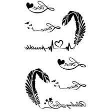 Resultado De Imagen Para Plantillas De Tatuajes De Plumas Plumas