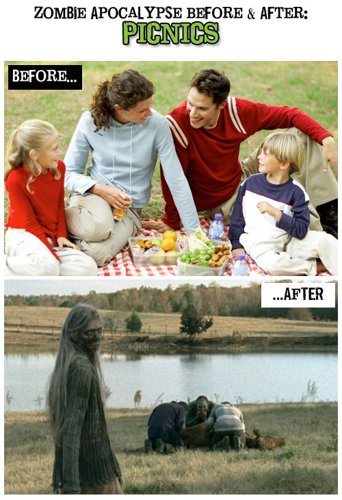 The Walking Dead - I love a nice countryside picnic
