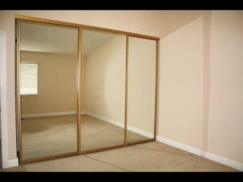 Mirrored Closet Doors Covering Mirrored Glass Closet Doors