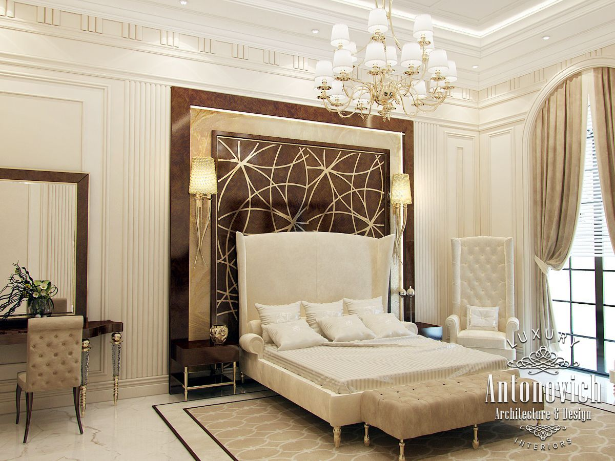 Luxury antonovich design uae katrina antonovich is a for Bedroom designs dubai