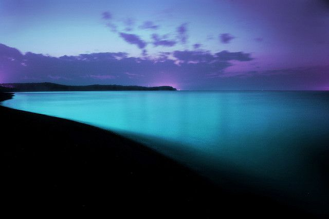 Straight out of a dream, beautiful #blue #Hawaii.