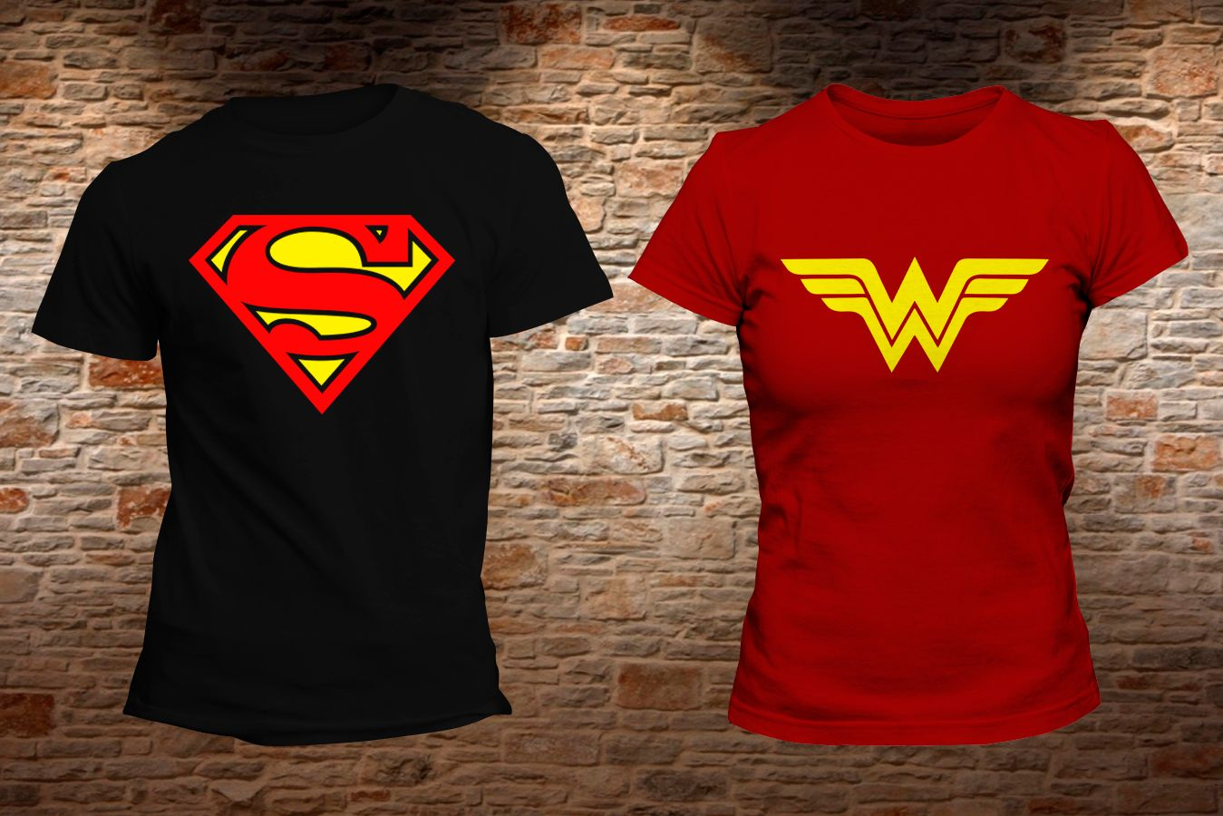 DC Comics Mono Superman Camisetas para Hombre