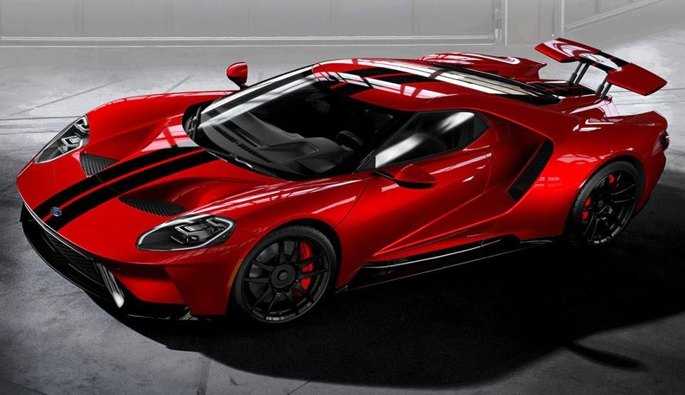 2017 Ford Gt Top 10 Color Combinations From The New Ford Gt Ford Gt 2017 Ford Gt Super Cars