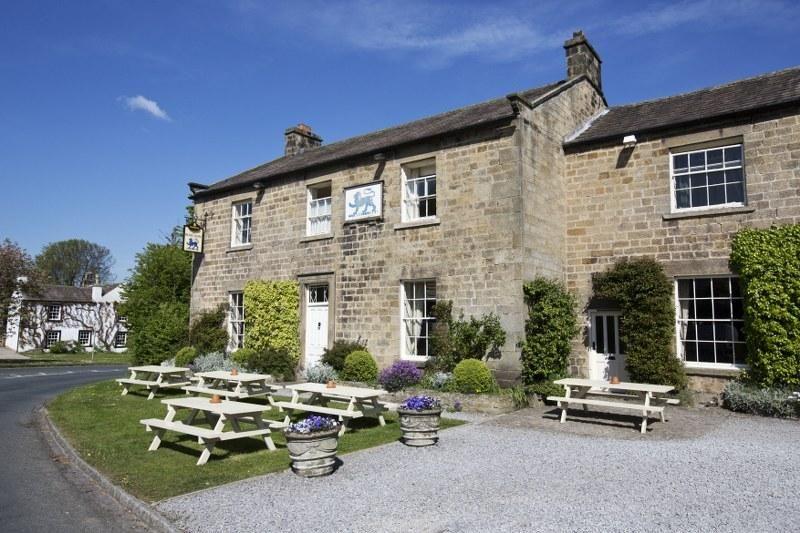 Blue lion pub yorkshire