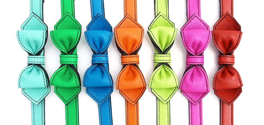 LuxeMutt Premium Boutique Dog Collars and Leashes.  Super supple, super awesome leather collars from Luxe Mutt.  I want to buy one in every color.