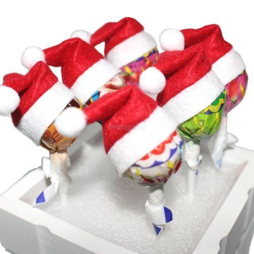 3538569ea3e6a Mini Christmas Felt Santa Hats DIY Craft by YourGreatestStory