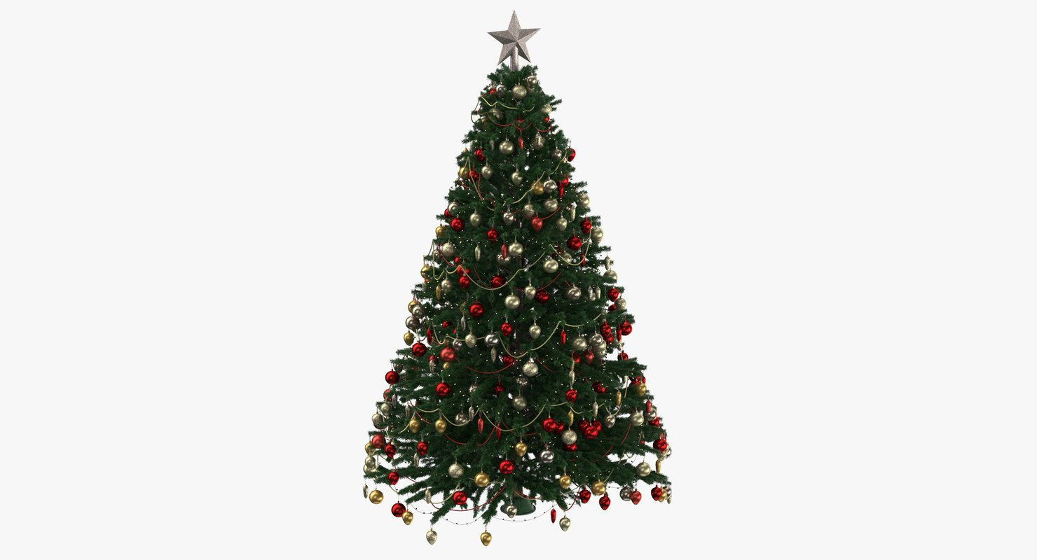 Low Poly Christmas Tree 3d Model Christmas Tree Clipart Christmas Tree 3d Model Cartoon Christmas Tree