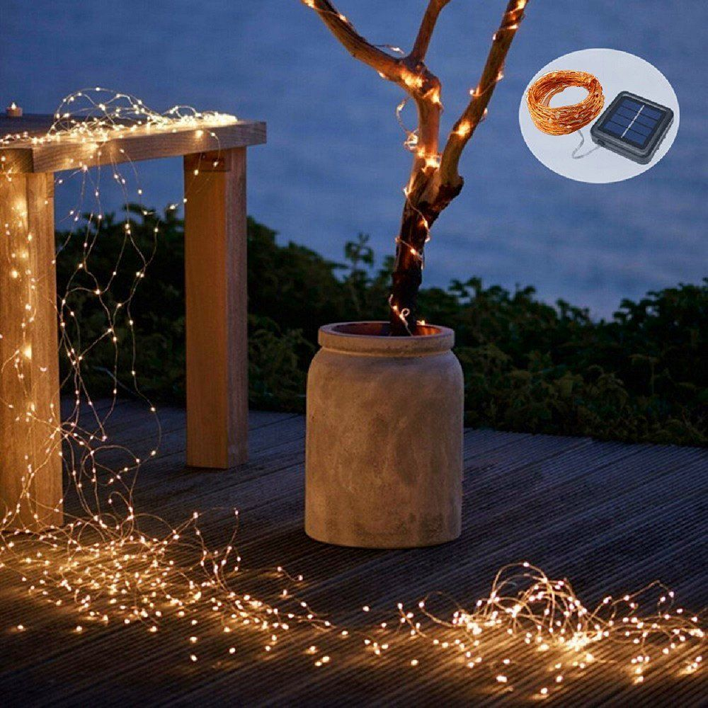 100 Foot 200 Foot Or 300 Foot Fairy Wire Up To 900 Leds Powered By 110v Plug In Only White Fairy Lights Warm White Fairy Lights Fairy Lights