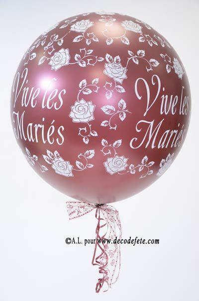 IN-CON-TOUR-NABLE !! Ce ballon GÉANT 90 cm bordeaux  à avoir obligatoirement à votre mariage ! Ce ballon est en latex, il peut se gonfler à l'hélium ou à l air. Assortissez-le à votre thème de déco. Décorez le ballon de tulle imprimé, de tulle déco, de superposition, remplissez le de confettis pour ensuite l'éclater en milieu de soirée ... #mariage #fetes www.decodefete.com