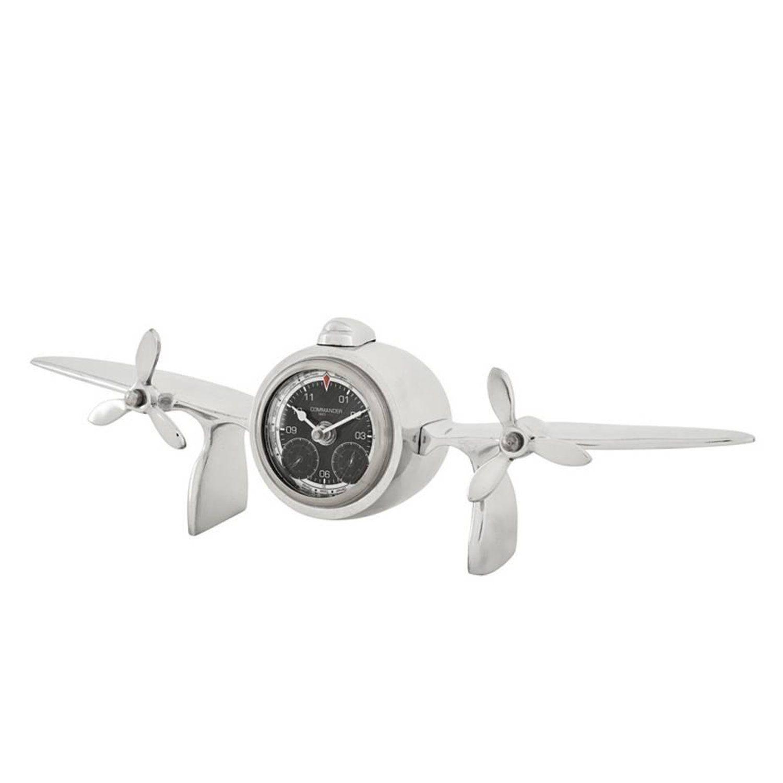 Capitain Clock In Polished Aluminium Propeller Clock Clock Cute Clock