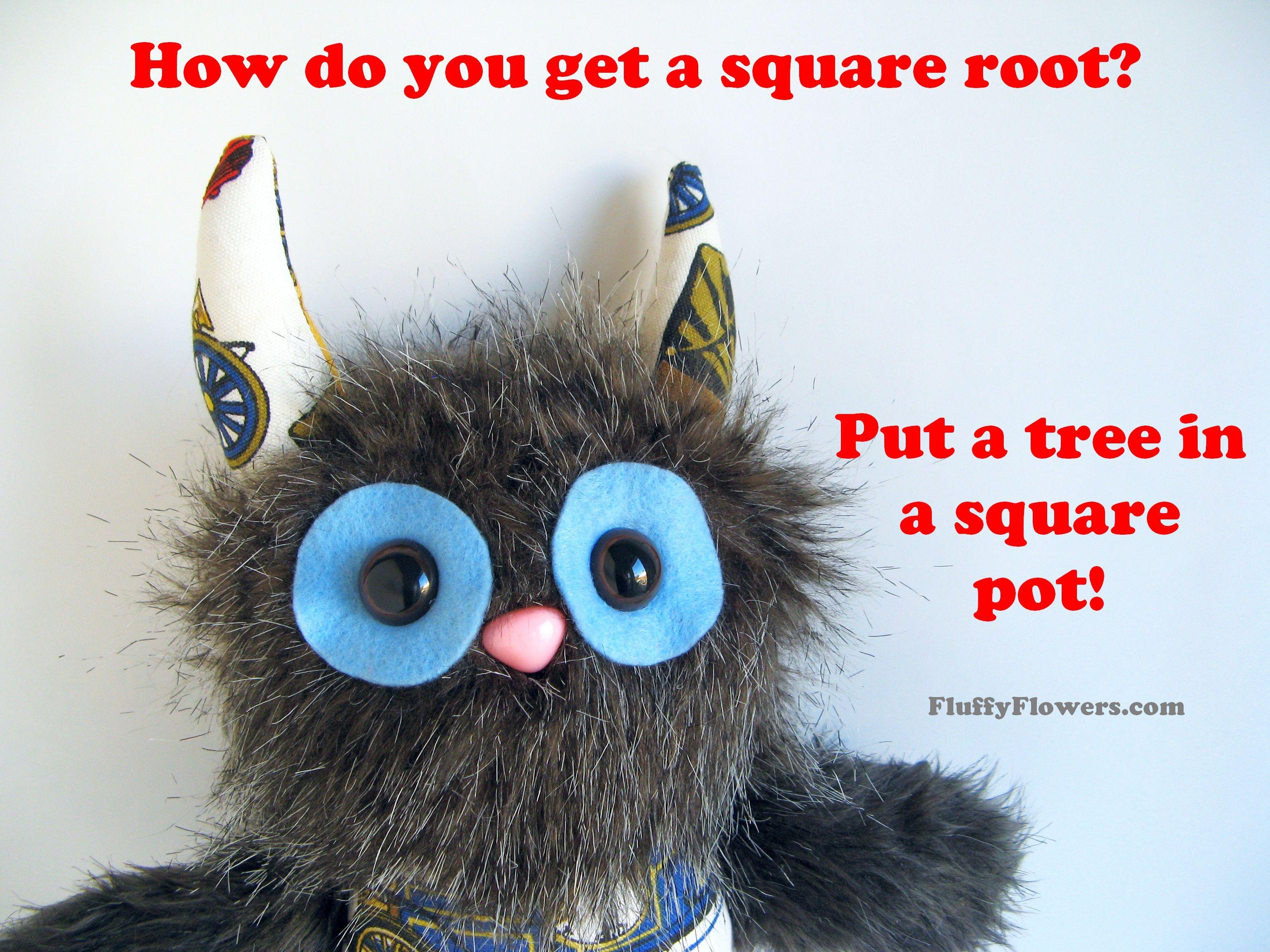 cute & clean tree flowerpot gardening joke for children