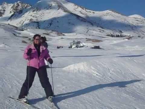 cadute divertenti con gli sci