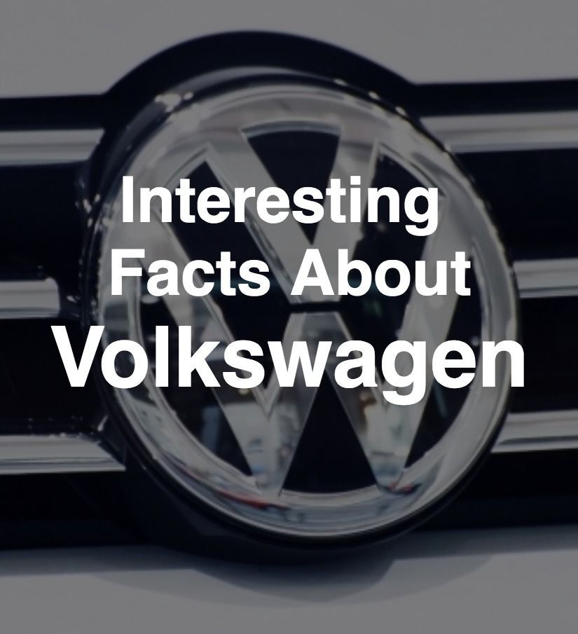 Interesting Facts About Volkswagen   facts   Pinterest   Texts