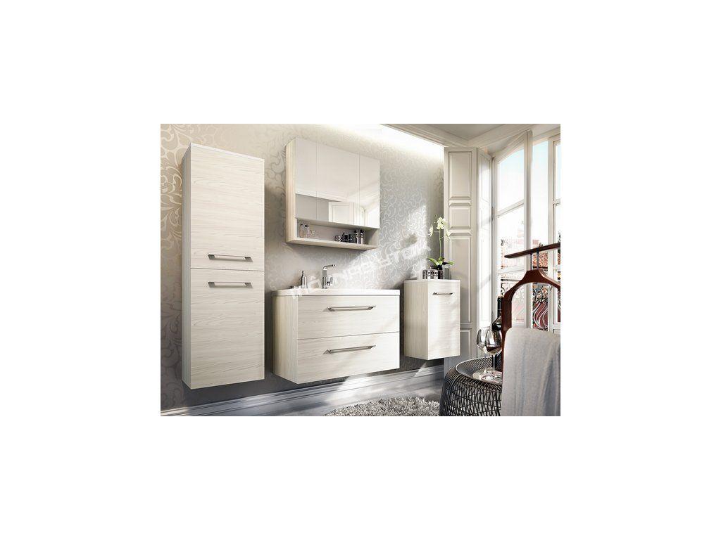 Jedinečná kúpelňova zostava PIRELI 2 ideálna do modernejších domácností.