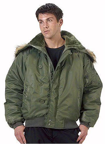 Amazon.com  Sage N-2B Heavy Insulated Cold Weather Flight Jacket  Clothing ec9952804ce