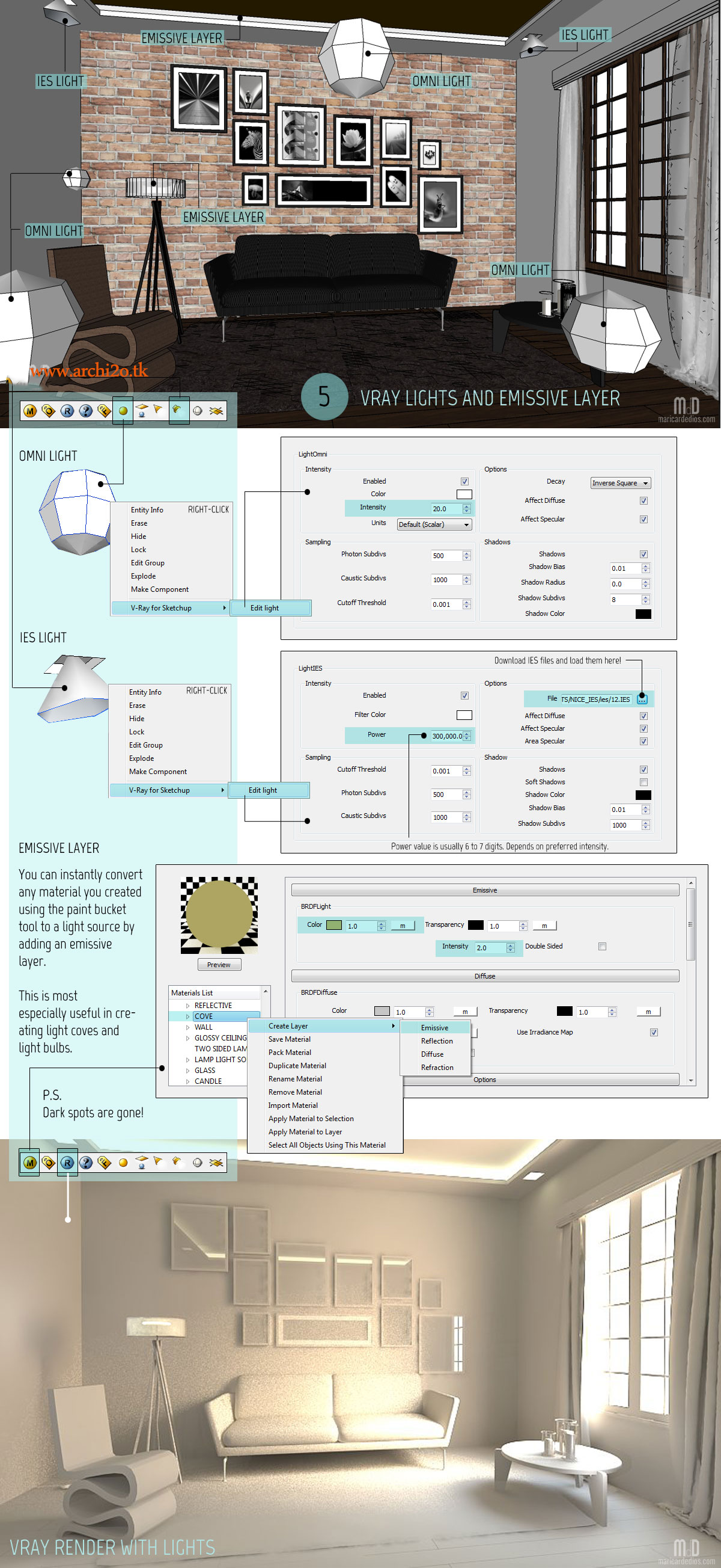 sketchup tutorial basic illumination full article atu2026 Pin by Mari