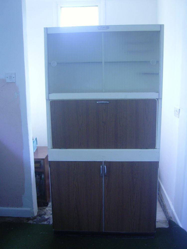 Original 1950 S60 S Eastham Larder Kitchen Cabinet With Spare Door Knobs Mums Kitchen Ideas