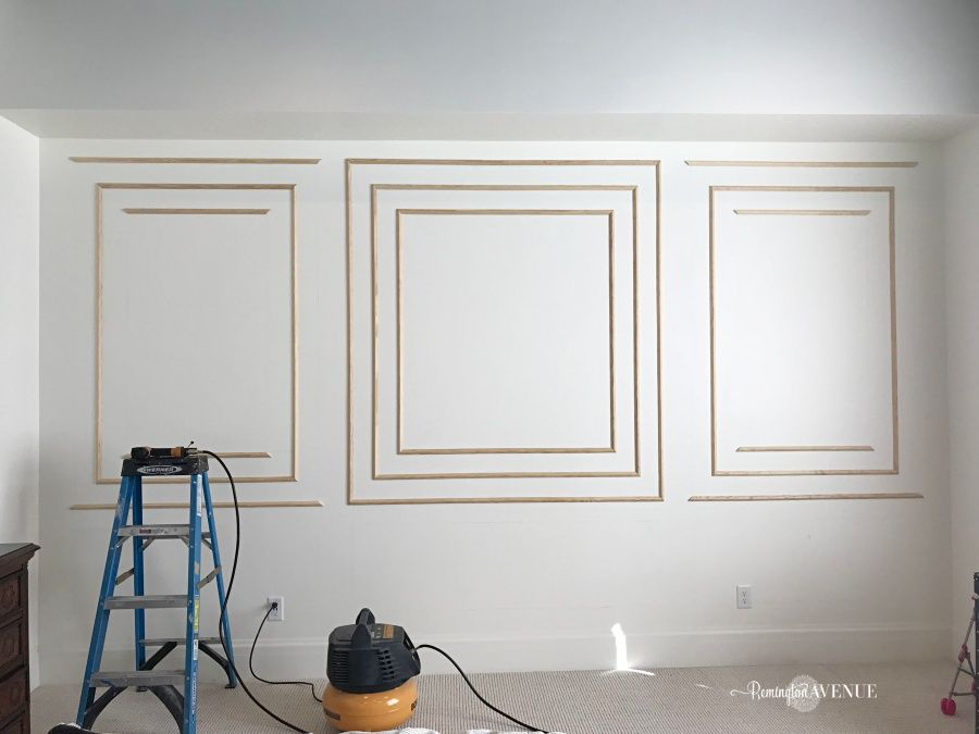 How To Install Modern Wall Molding 7