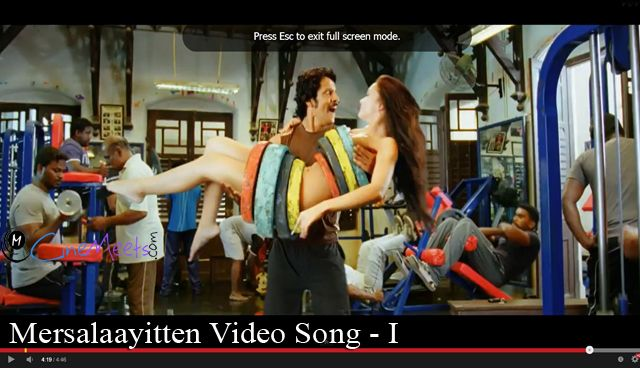 Mersalaayitten Video Song - I See video click here http://goo.gl/6JfkDl    #imovie #I #vikram #amyjackson #shankar #arrahman #Latestvideo #cinemeets #cinemeets_com