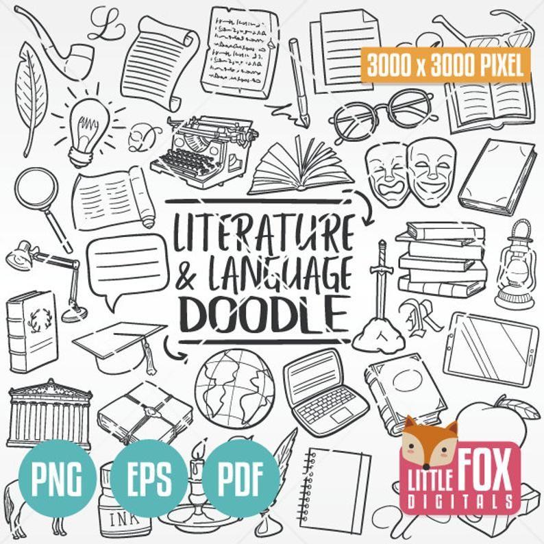 School Bundel Terug Naar School Doodle Iconen Bundel Clip Etsy In 2020 Doodle Icon Line Art Design Doodles