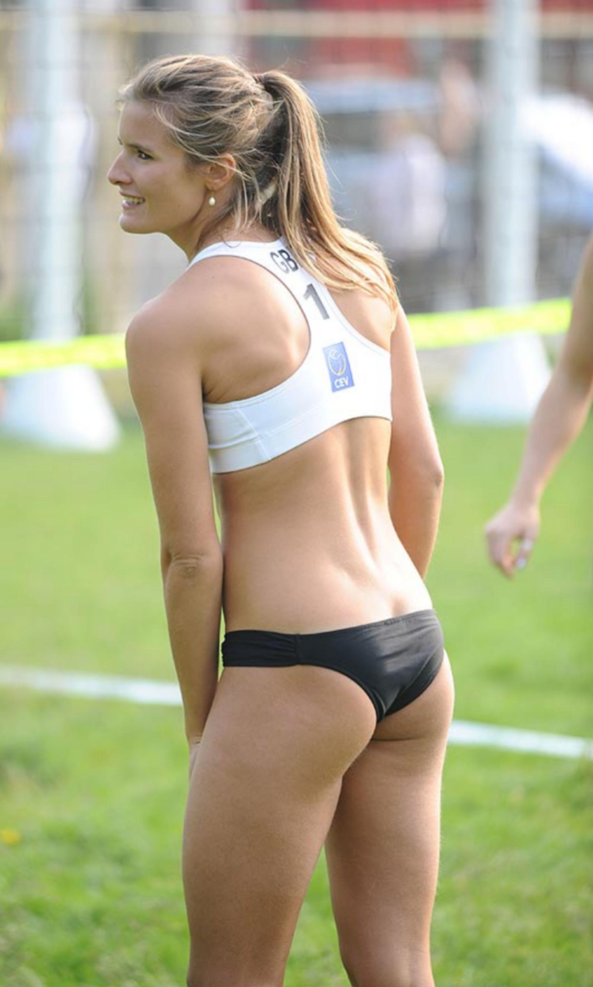 Zara Dampney British Beach Volleyball Player Sport Olimpici Beach Volley Giochi Olimpici