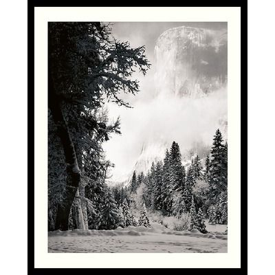 Lab Bc Amanti Art El Capitan By Ansel Adams Framed Print Art 31 04 X 25 04 Ships By 10 9 Ansel Adams Framed Art Prints Art