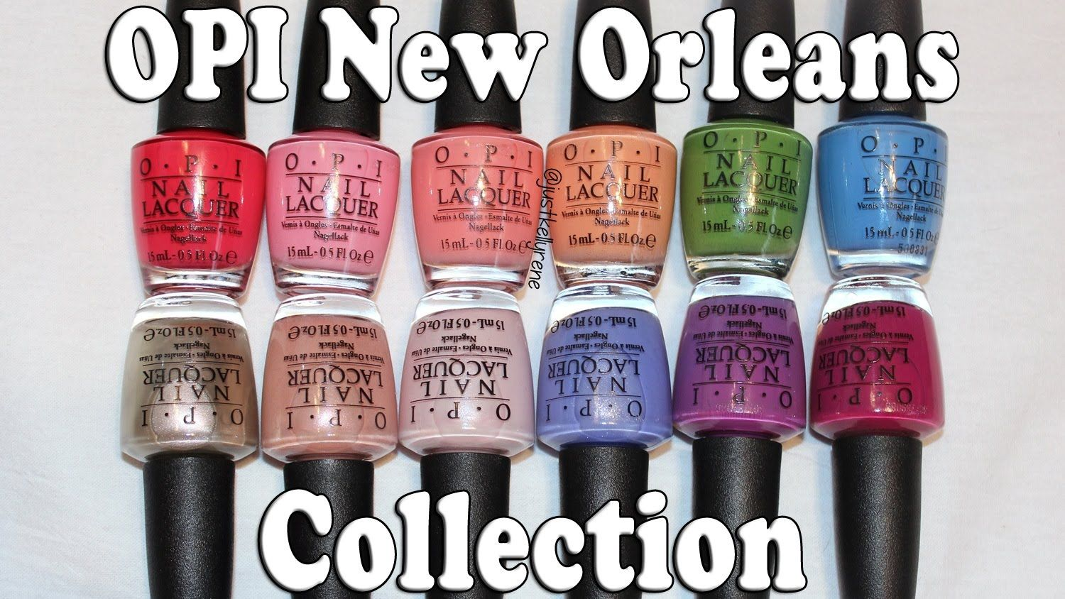 OPI New Orleans Collection swatches ♥justkellyrene Opi