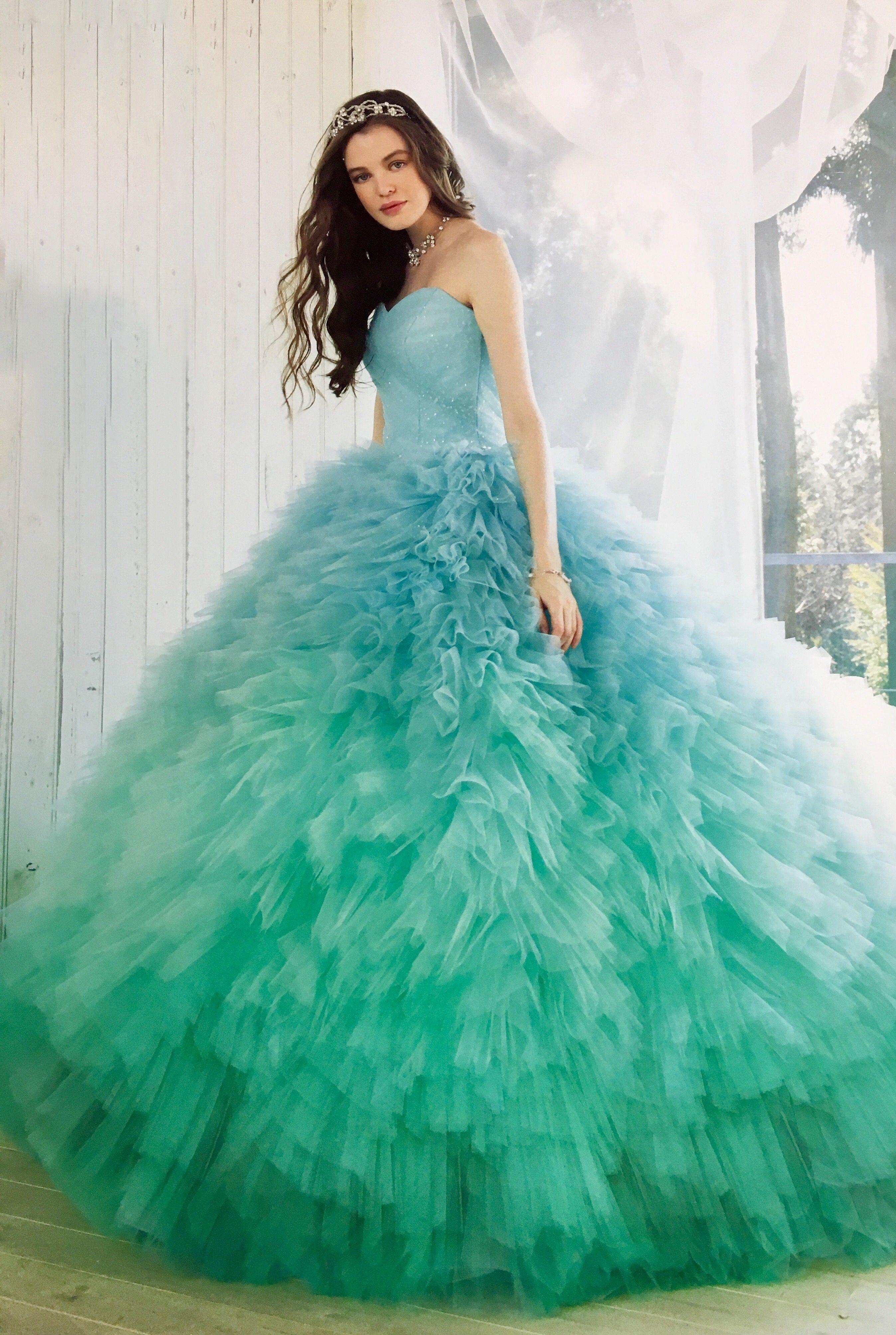 40 Blue Wedding Dresses: Your BFF Will Wish She Hadn't Worn White