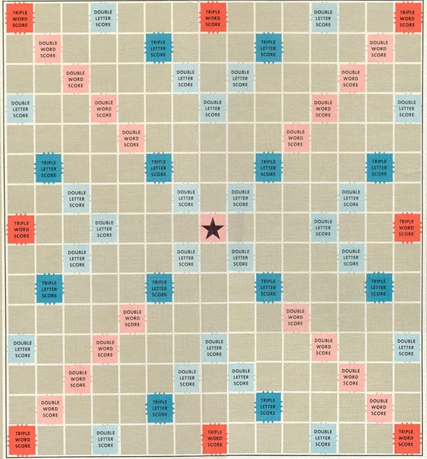 Big Scrabble Board Tutorial Scrabble Board Scrabble Scrabble Board Game