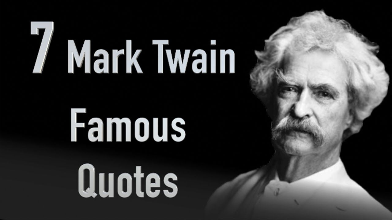 TOP 15 Famous Quotes Mark Twain (With images) Famous