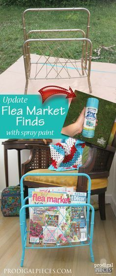 Flea Market Finds ~ An Easy DIY Update - Prodigal Pieces