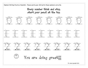 Number Names Worksheets number practice writing : Number Names Worksheets : number writing practice kindergarten ...