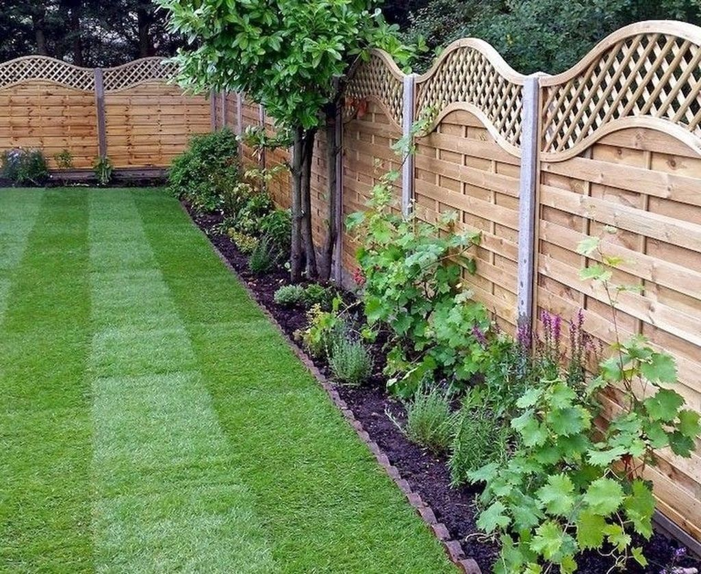 20+ Smart Backyard Fence And Garden Design Ideas For Your ...