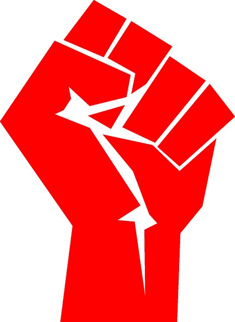 Communist Hand Vinyl Decals Poster Stickers Fist