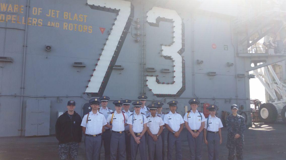 FMS Stem Trip to the USS Washington Uss