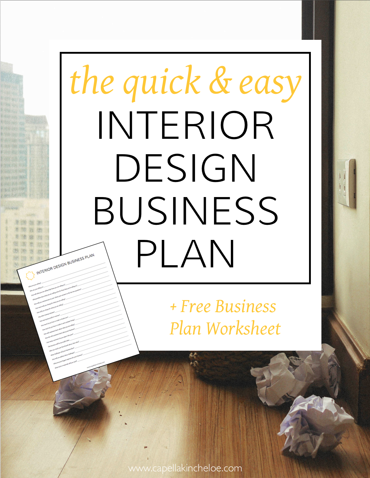 Business plans shouldn 39 t be hard this quick and easy - Interior decoration business plan ...